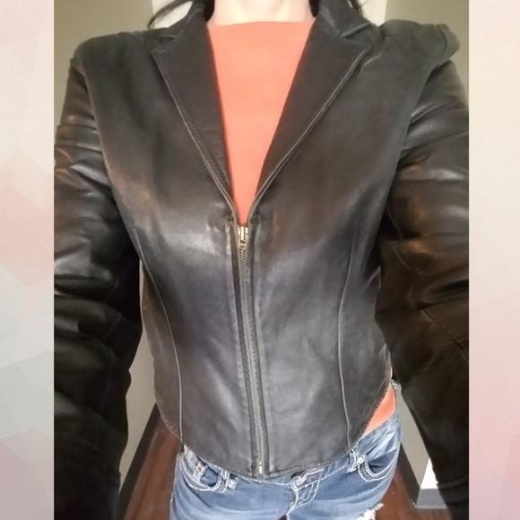 ♥Host Pick♥ Vintage Leather Jacket